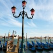 Venice - romantic, tourist town in Italy — Foto de Stock