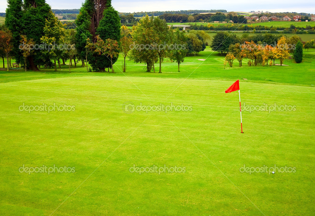 Golf course   Stock Photo #3128156