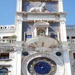 Astronomical clock in Venice, Italy — Stock Photo