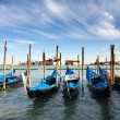 Godolas in Venice in Italy — Stock Photo