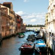 Colorful canal of Venice — Stock Photo