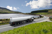 Tanker truck — Stock Photo