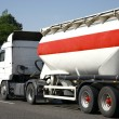 Transport - Tanker Truck - Stock Photo