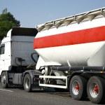 Transport - Tanker Truck — Stock Photo