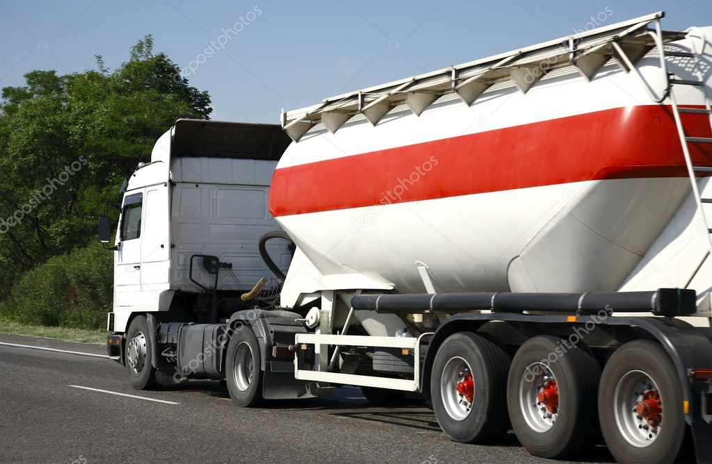 Transport - Tanker Truck  Stock Photo #3281609