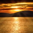Stock Photo: Sunset over Adriatic Sea