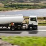 大燃料气体加油车 — 图库照片