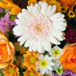 Stock Photo: Bright Summer Flower Bouquet