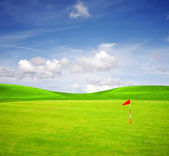 Golf field — Photo