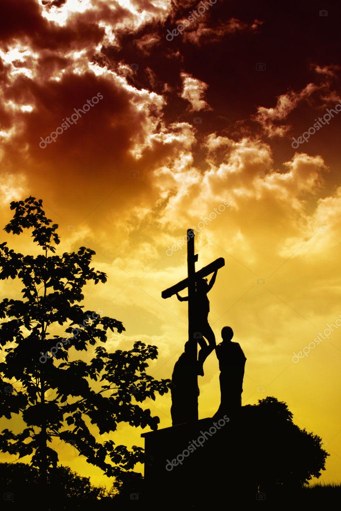 Jesus Crucifixion  Stock Photo #2693503
