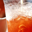 Cup with icy cold drink - Stock Photo