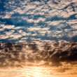Beautiful sky at sunset time — Stock Photo #2810362