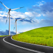 Stock Photo: Wind road