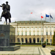 Presidential Palace in Warsaw — Stock Photo