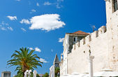 Trogir, beautiful view of old town — Stock Photo