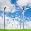 Windmill, alternative energy source - Foto Stock