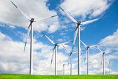 Windmill, alternative energy source — Stock Photo