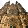 Prague gothic cathedral - Stock Photo