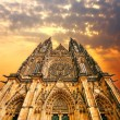 Royalty-Free Stock Photo: Cathedral on Sunset