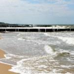 Beach and sea — Stock Photo