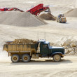 Stock Photo: Dolomite Mines
