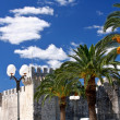 Ancient Castle in Trogir, Croatia - Stock Photo