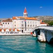 Stock Photo: Town in Croatia