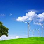 Wind Field — Stock Photo