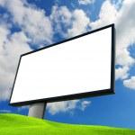 Empty billboard — Stock Photo