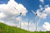 Energia eólica — Fotografia Stock