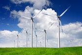 Modern windmills — Stock Photo