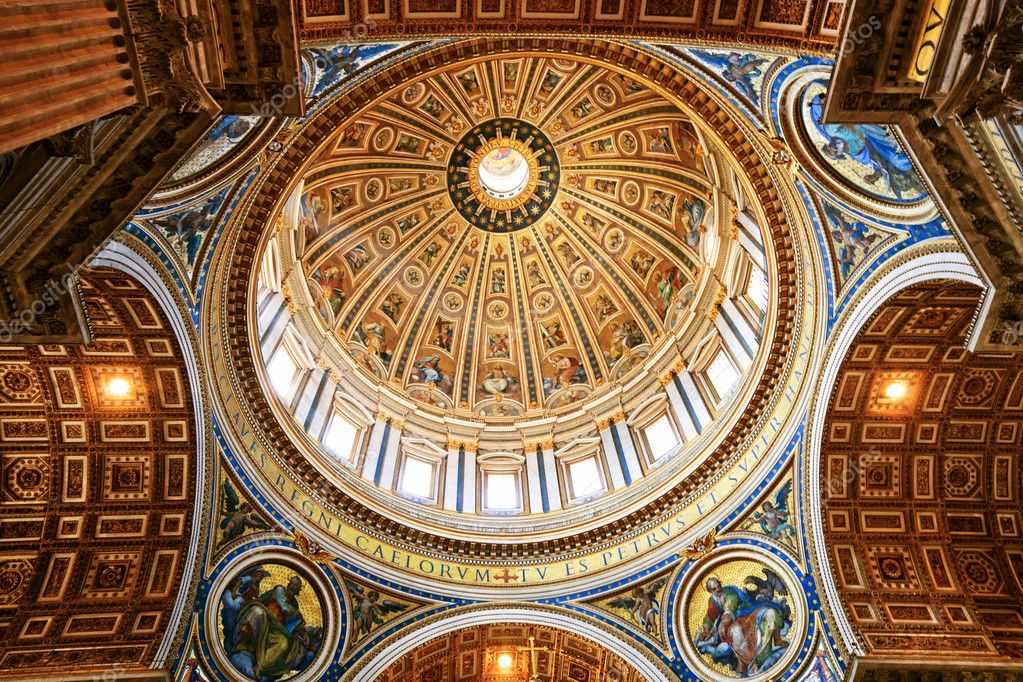 St. Peter's Basilica, Vatican City — Stock Photo #3168269