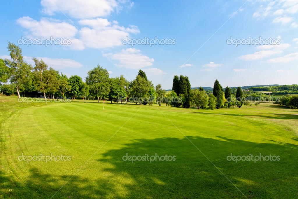 Golf field  — Stock Photo #3277370