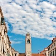 Main street old town Dubrovnik — Stock Photo