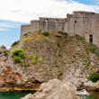 Sea fort, Dubrovnik, Croatia — Stock Photo