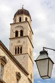 Dzwonnica w dubrowniku — Zdjęcie stockowe