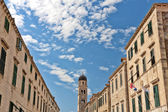 Main street. Old Town in Dubrovnik, Croatia — Stock Photo