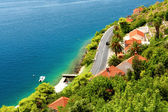 Villas On Dalmatian Coast — Stock Photo