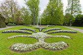 Groene park in praag — Stockfoto