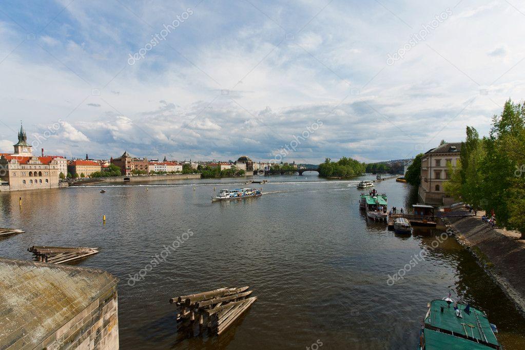 река в прага фото
