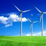 Wind turbines — Stock Photo #3334645