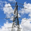 Electricity pylon — Stock Photo #3359583