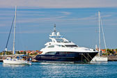 Luxury yachts, Zadar, Croatia — Stock Photo