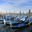 Gondola Parking, Venice — Stock Photo #3375683