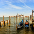 Venice gondolas - Stock Photo