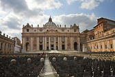 St. Peter's Basilica, Vatican — Stock Photo