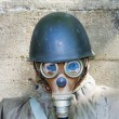 Old chemical protection, world war — Stok fotoğraf