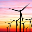Wind farm sunset — Stock Photo #3382667