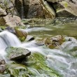Stock Photo: Small stream with waterfalls