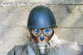 Old chemical protection, world war — Stock Photo